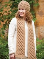Tunisian Cables to Crochet Pattern Book Annies 871221 DISCONTINUED